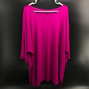 Eileen Fisher Oversized 3X Tunic Tee Shirt Viscose